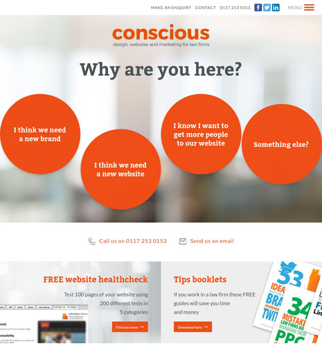 Conscious Solutions Screenshot