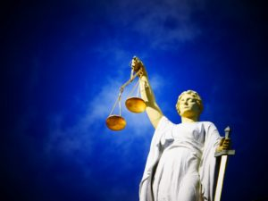 The moral force, Lady Justice