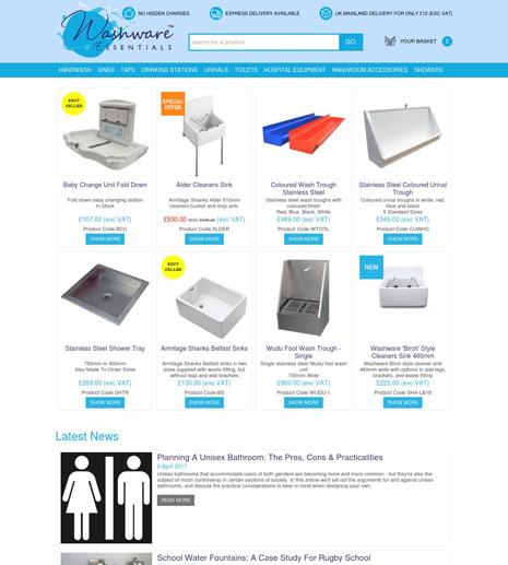 Washware Essentials Screenshot